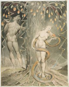 Blake_-_The_Temptation_and_Fall_of_Eve_(Illustration_to_Milton's__Paradise_Lost_)_-_Google_Art_Project