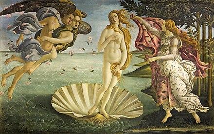 Botticelli El_nacimiento_de_Venus