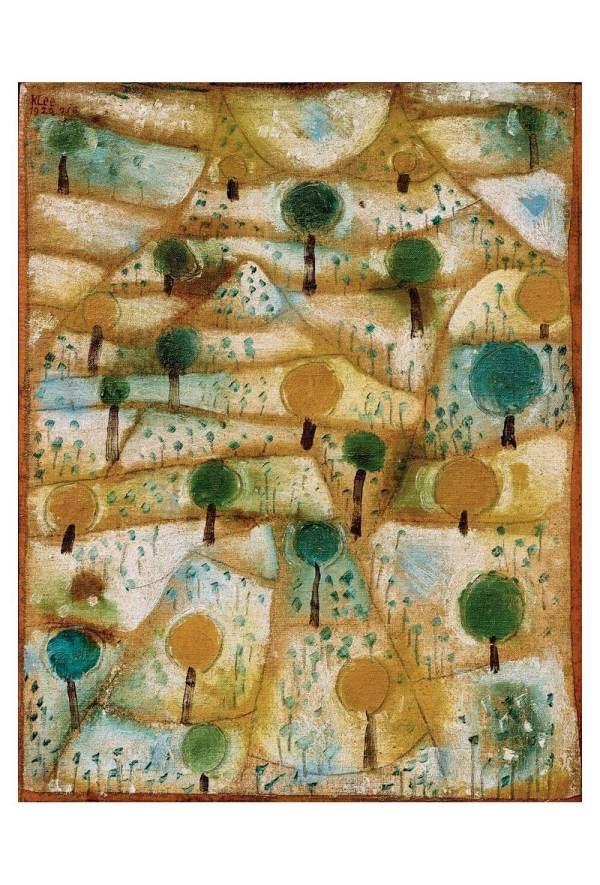 Klee small-rhytmic-landscape